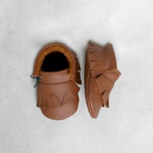 wild brown moccasins over